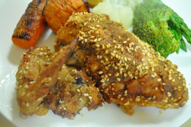 Judith Comfort's Crispy Oven-Fried Chicken