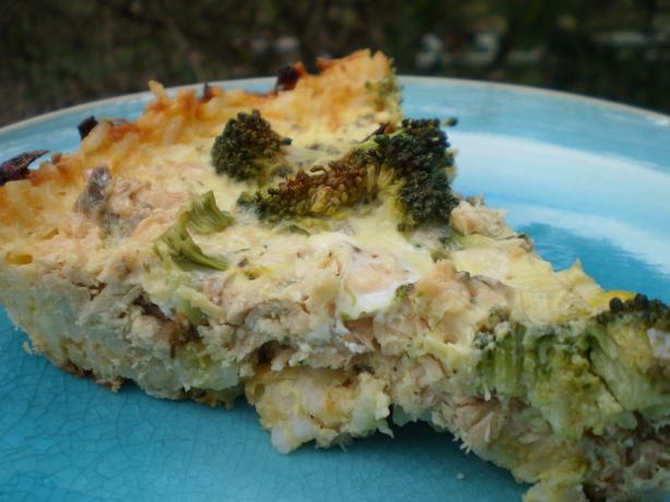 Salmon-Rice Pie