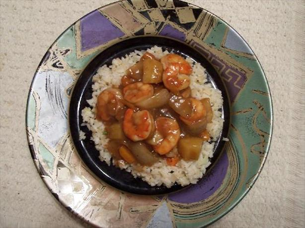 Sweet and Sour Shrimp & Vegetables