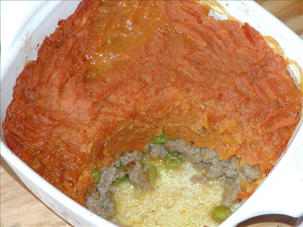 Turkey Sweet Potato Pie ( Shepherd's Pie)
