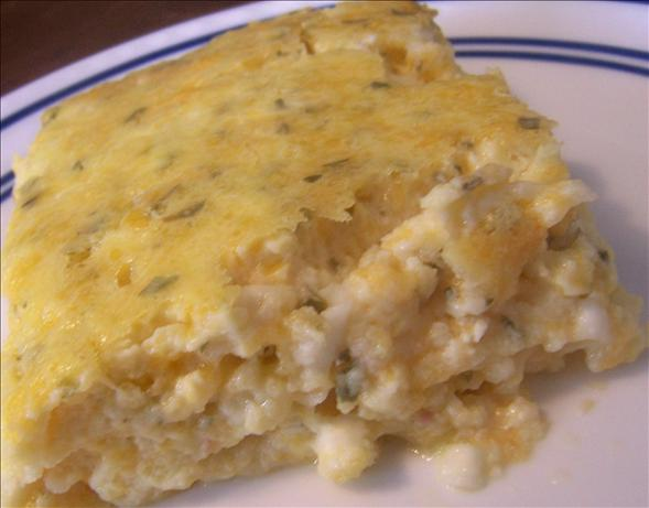 Four Cheese Egg Casserole