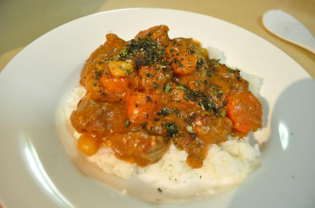 Beef Curry (Oamc)