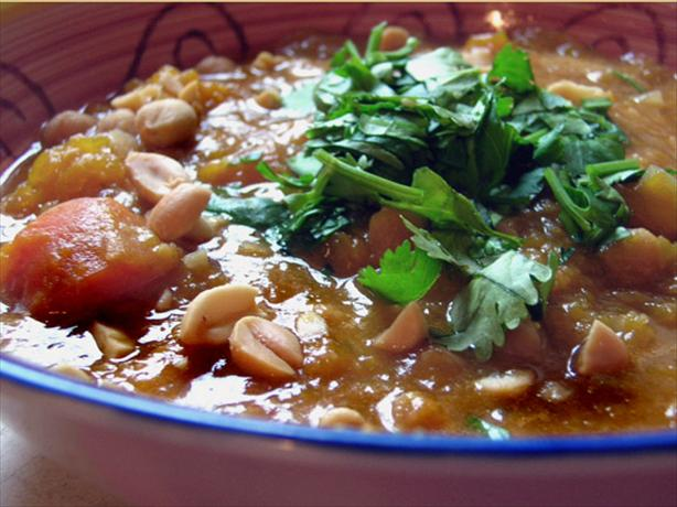Winter Squash, Chickpea & Red Lentil Stew