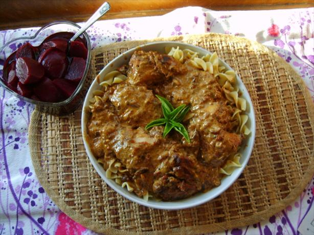 Pressure Cooker Hungarian Chicken