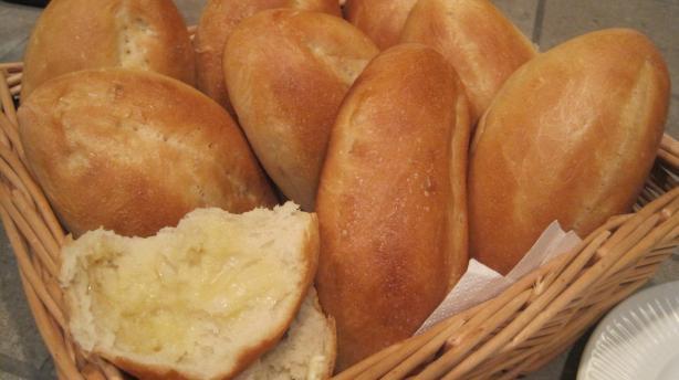 Mexican Bolillos, Crusty oval rolls