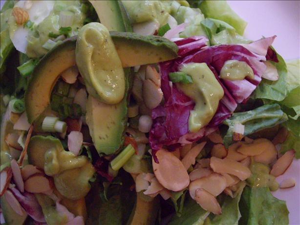 Healthy Avocado Salad Dressing
