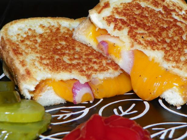 Kristen's Grilled Cheese and Red Onion Sandwich