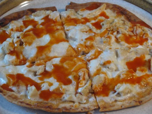 Buffalo Chicken Flatbread Pizza
