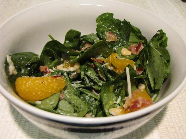 Spring Sunshine Salad With Citrus Parmesan Dressing