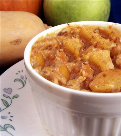 Apple 'n' Oats Breakfast Pudding