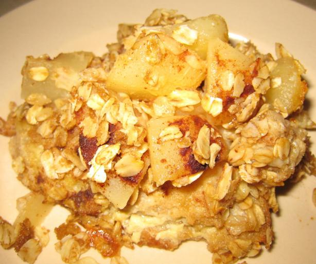 Stormy Day Breakfast Bread Pudding