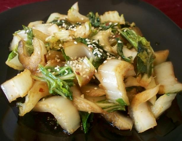 Zippy Stir-Fried Baby Bok Choy