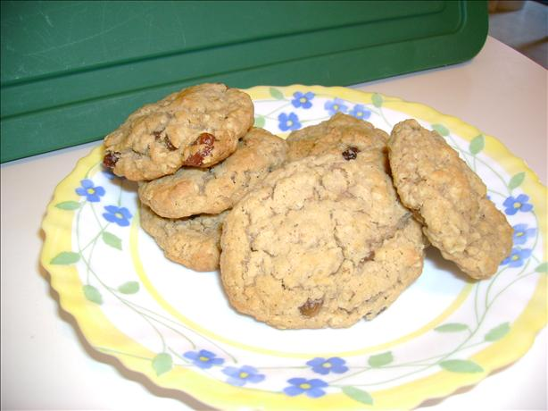 Oatmeal Raisin Cookies W/ a Kick
