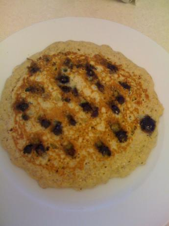 Amazing Light Whole Wheat Blueberry Pancakes