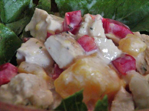 Mango and Chicken Salad With Buttermilk Dressing