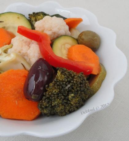 Marinated Garden Vegetables