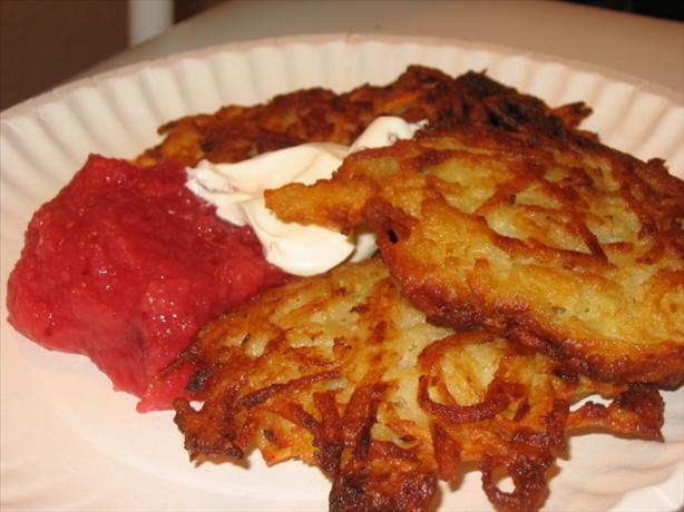 Potato Latkes (Jewish Potato Pancakes) - Gluten-Free