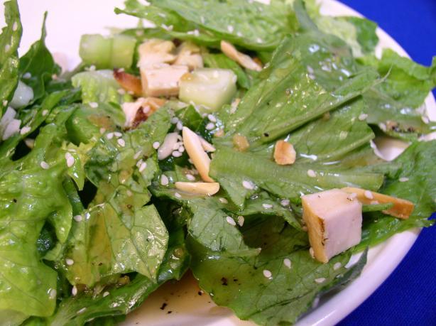 Chinese Chicken Salad & Dressing