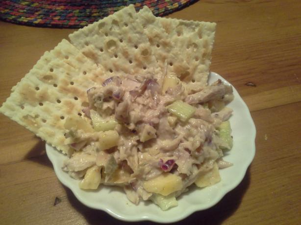 Apple Mango Chicken Salad