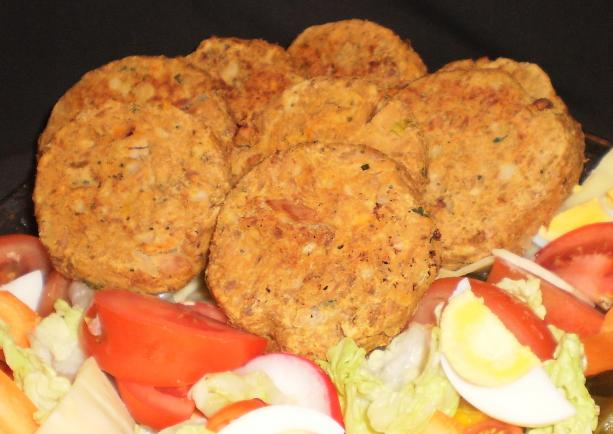 Kumera and Tuna Patties
