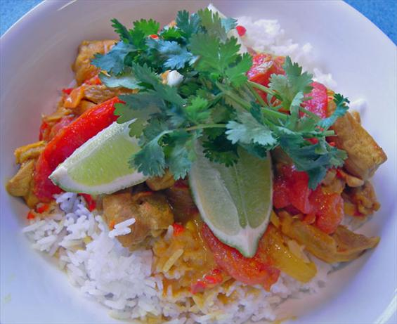 Spicy Malay Chicken Curry
