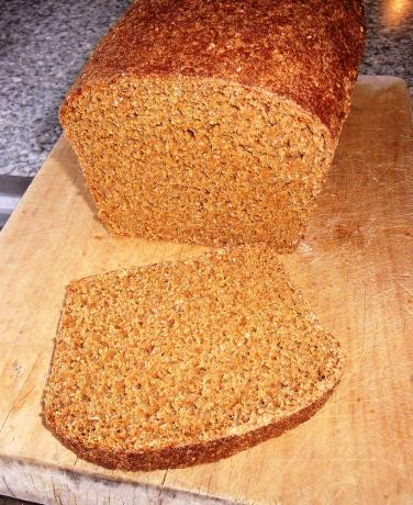 Whole Wheat With Oat Bran Bread