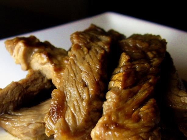 Japanese Style Beef Rib Eye BBQ - Beef Yakiniku