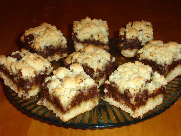 Chocolate Fudge-Nut Cream Cheese Bars