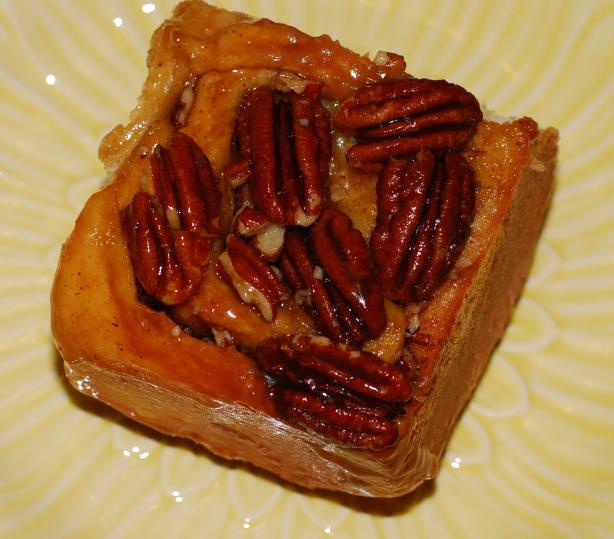 Bread Machine Cinnamon-Pecan Buns
