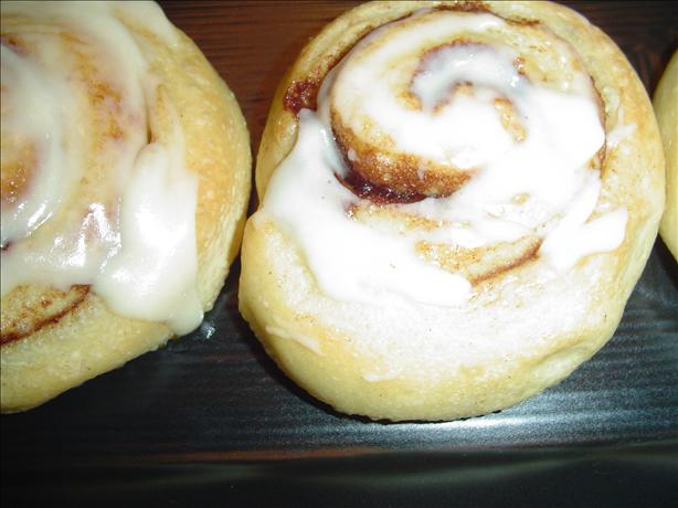 Pampered Chef Cinnamon Rolls