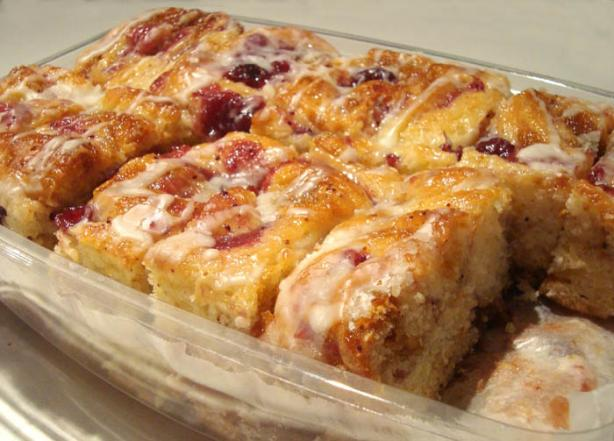 Cranberry Sticky Buns