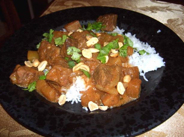 Slow Cooker/Crock Pot Massaman Curry