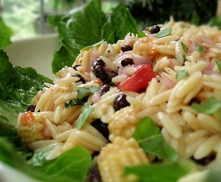 Orzo Salad With Corn, Tomatoes, & Basil