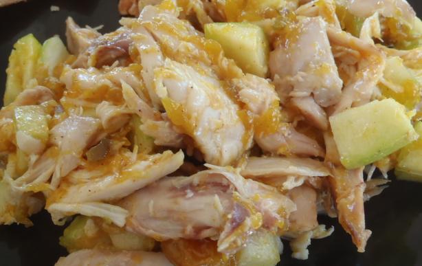 Quick Curried Chutney Chicken Salad