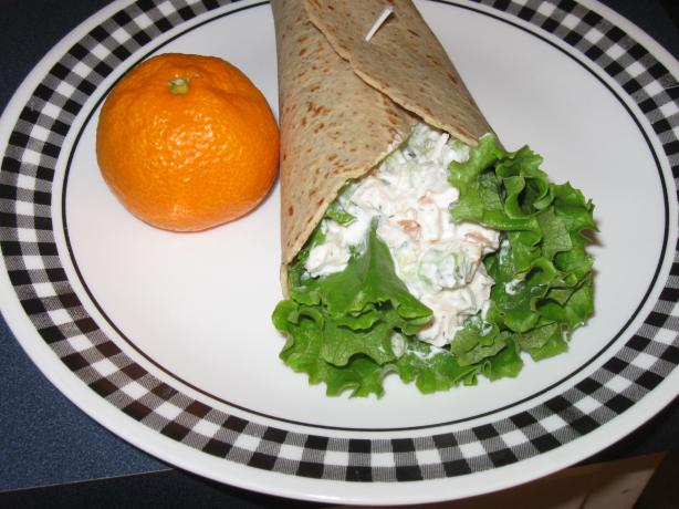 Chicken Salad Wrap With Greek Yogurt