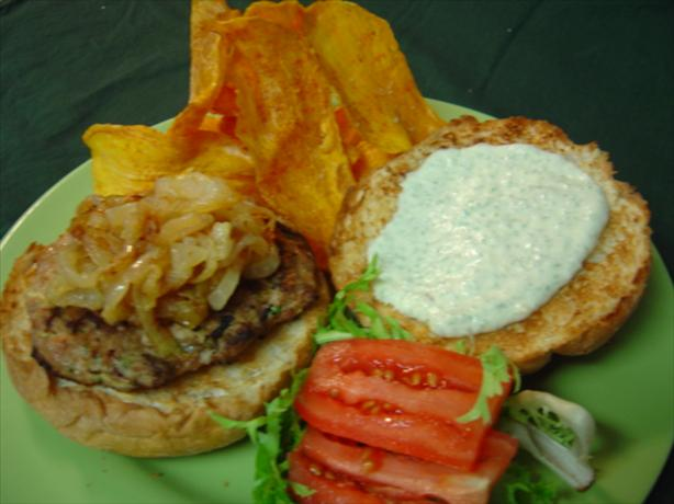 Mesa Burgers With Sage Aioli and Spicy Chips