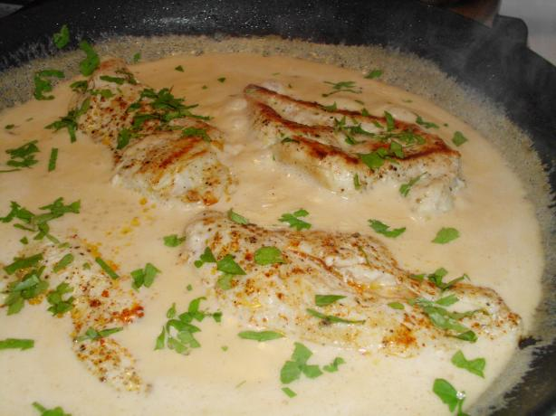 Chicken in Creamy Chipotle Sauce