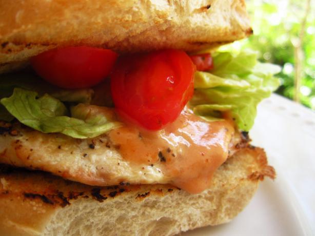 Lemon-Pepper Chicken Deli Roll Sandwiches