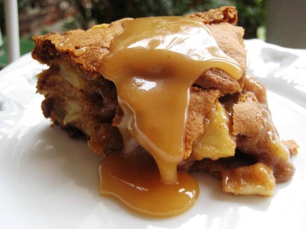 Amazing Caramel Apple Cake