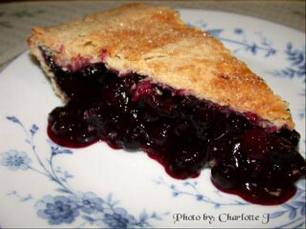 Blueberry Cranberry Pie