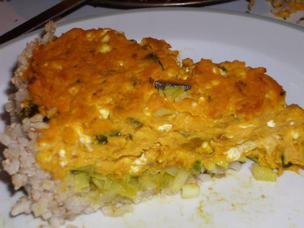Butternut Pumpkin Pie With a Brown Rice Crust