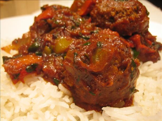 Curried Lamb Meatballs