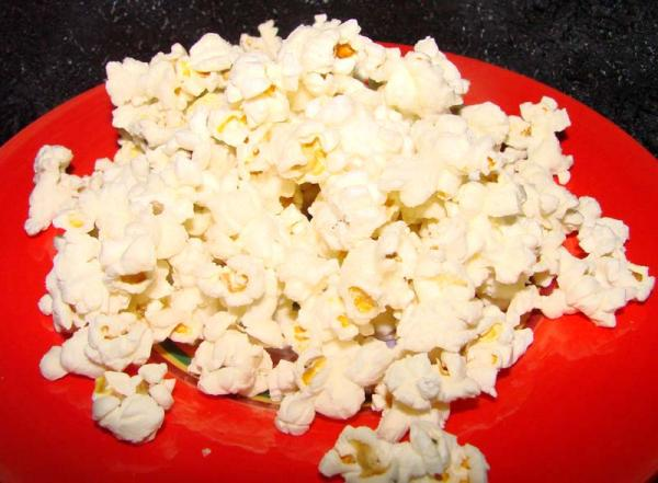 Microwave Popcorn Three Ways