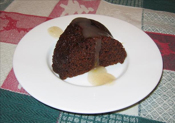 Persimmon Steamed English Pudding