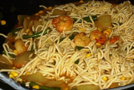Green Curry Chicken Noodle Stir-Fry