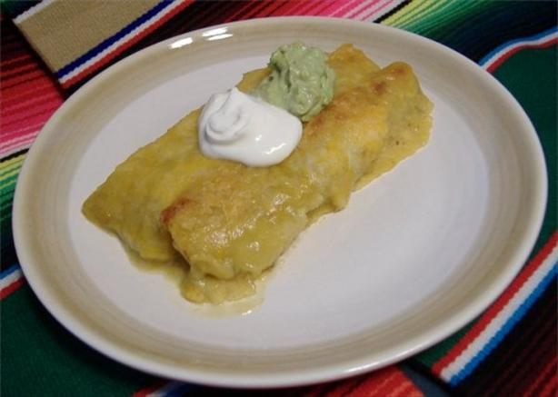 Easy Chicken & Black Bean Enchiladas