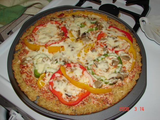 Vegetarian - Rice Crust Pizza
