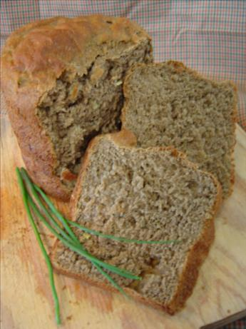 Buckwheat Potato Bread With Chile Honey