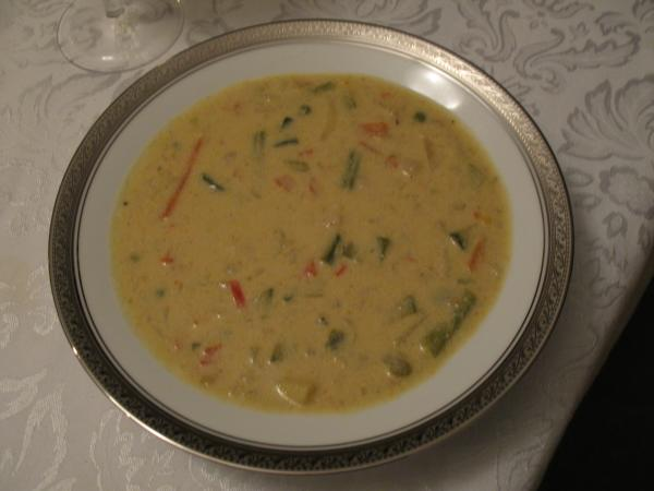 Very Creamy Vegetable Chowder a la Moosewood