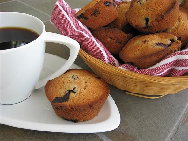 Gourmet Magazine's Cinnamon Blueberry Muffins
